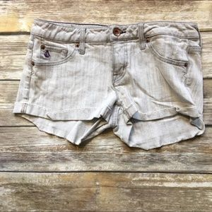 Volcom Gray Denim Shorts 7